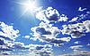 ID 3023424 | Strahlende Sonne am blauen Himmel | Foto mit hoher Auflösung | CLIPARTO