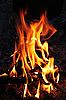 ID 3023602 | Feuer in der Nacht | Foto mit hoher Auflösung | CLIPARTO