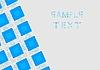 Niebieskie kwadraty | Stock Vector Graphics