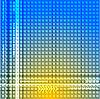 Streszczenie niebieskim żółtym | Stock Vector Graphics