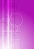 Różowe koła i kwadraty | Stock Vector Graphics