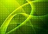 활기찬 녹색 추상화 | Stock Vector Graphics