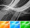 ID 3024714 | Abstrakte wellige Hintergründe  | Stock Vektorgrafik | CLIPARTO