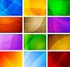 추상적 인 배경 컬렉션 | Stock Vector Graphics