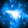 Niebieskie trójkąty | Stock Vector Graphics