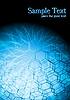 Hi-tech niebieskie tło | Stock Vector Graphics