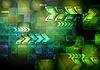 Vibrant techniczne tło | Stock Vector Graphics