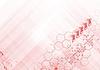 Hi-tech streszczenie różowy tło | Stock Vector Graphics