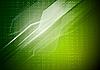Grüner technischer Hintergrund