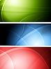ID 3025016 | Set der abstrakten Banner | Stock Vektorgrafik | CLIPARTO