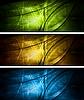 밝은 조직 배너 모음 | Stock Vector Graphics