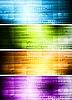 하이테크 배너의 집합 | Stock Vector Graphics