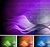 ID 3026247 | Kolekcja jasnych teł technicznych | Klipart wektorowy | KLIPARTO