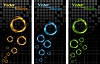 ID 3026606 | Banner mit bunten Ringen | Stock Vektorgrafik | CLIPARTO