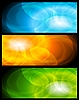ID 3027827 | Set der abstrakten Banner | Stock Vektorgrafik | CLIPARTO