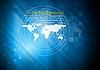 ID 3107211 | Blauer technischer Hintergrund | Stock Vektorgrafik | CLIPARTO