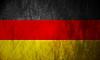 Deutsch Grunge-Flagge