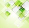 빛 녹색 사각형 추상적 인 배경   Stock Vector Graphics