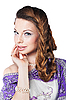 ID 3024252 | Piękna kobieta romantyczny | Foto stockowe wysokiej rozdzielczości | KLIPARTO
