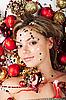 ID 3024257 | Neujahr-Mädchen | Foto mit hoher Auflösung | CLIPARTO
