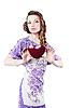 ID 3024259 | Piękny romantyczny kobieta ciemne czerwone serce | Foto stockowe wysokiej rozdzielczości | KLIPARTO