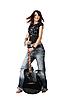 ID 3024266 | Teenager-Mädchen mit akustischer Gitarre | Foto mit hoher Auflösung | CLIPARTO
