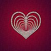 ID 3024128 | Serce z perłą | Stockowa ilustracja wysokiej rozdzielczości | KLIPARTO