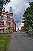 ID 3024705 | Straßen in Vyborg. Weg zum Hafen | Foto mit hoher Auflösung | CLIPARTO
