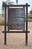ID 3094390 | Holz-Infotafel | Foto mit hoher Auflösung | CLIPARTO