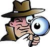 Детектив инспектор | Векторный клипарт