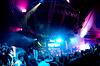 Ludzi zabawy na koncercie | Stock Foto