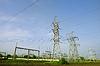 Wieże elektryczne | Stock Foto