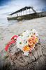 Bukiet ślubny na zewnątrz | Stock Foto