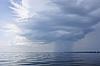 ID 3038800 | Regen über der Küste | Foto mit hoher Auflösung | CLIPARTO