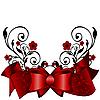 Ornament z kokardą | Stock Vector Graphics