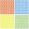 Set von ornamentalen Mustern | Stock Vektrografik