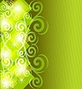 Abstrakter grüner Hintergrund | Stock Vektrografik