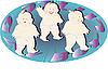 세 개의 작은 소년 | Stock Foto