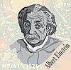ID 3140203 | Porträt von Einstein | Stock Vektorgrafik | CLIPARTO