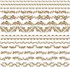 ID 3290519 | Горизонтальные элементы декора | Векторный клипарт | CLIPARTO