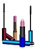 ID 3041700 | Lippenstift und Tinte für Augenwimpern | Stock Vektorgrafik | CLIPARTO