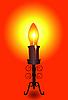 Lamp-Kerze