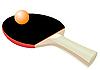 Racket für Tischtennis