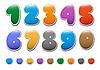 ID 3045315 | Dekoracyjne numerów ustaw | Klipart wektorowy | KLIPARTO
