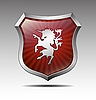 ID 3056264 | Wappen mit Einhörner | Stock Vektorgrafik | CLIPARTO