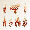 Flames | Stock Vector Graphics