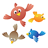 Amüsante Vögel