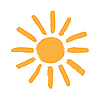 Sun symbol | Stock Vector Graphics