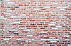 Stary ceglany mur | Stock Foto