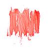 Rote Pinselstriche | Stock Foto